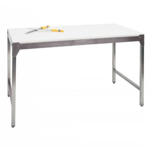 CHASSIS DE TABLE SIMPLE INOX 200X70X90CM