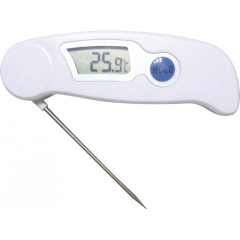 THERMOMÈTRE DIGITAL AVEC SONDE INOX REPLIABLE -50°C +300°C