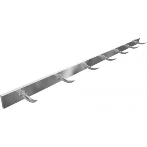 BARRE A DENTS DE LOUP INOX 30X6MM 2M