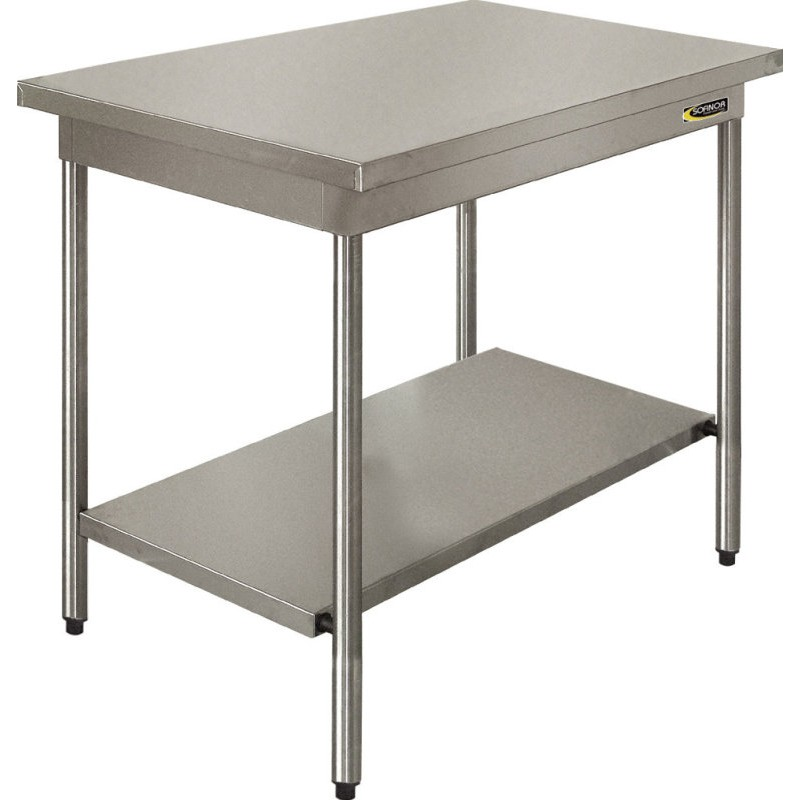 La bovida table de travail inox for Table travail inox