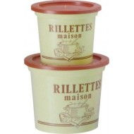 POT RILLETTES MAISON PS BEIGE 25CL /250