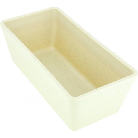 TERRINE RECTANGULAIRE PLASTIQUE BEIGE 150CL /51
