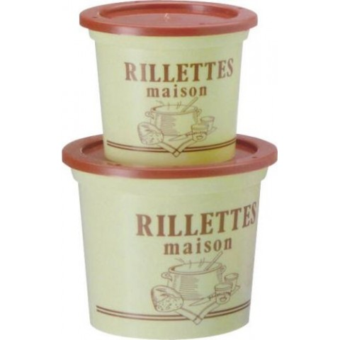 POT RILLETTES MAISON PS BEIGE 12,5CL /250